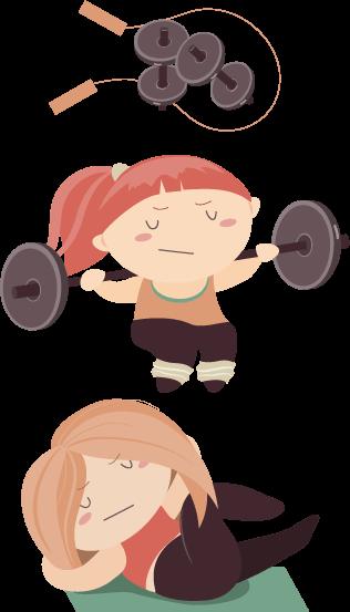 Exercise et perte de poids