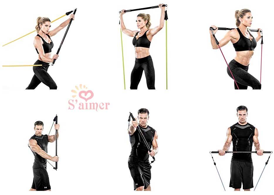 musculation, gym à domicile et exercices cardio