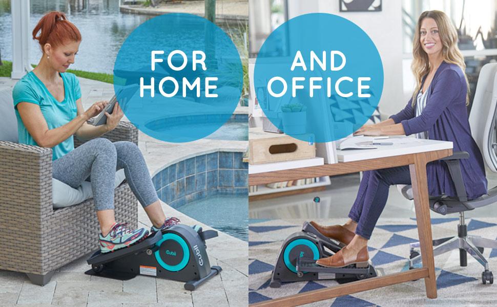 Cubii JR1 Appareil elliptique assis sous le bureau pour entraînement à la maison