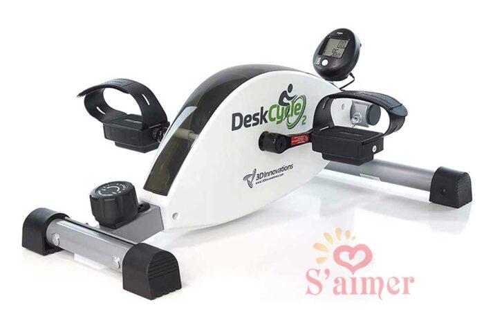 DeskCycle Vélo d'appartement et pédalier d'exercice sous le bureau