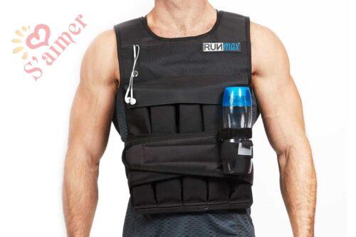 Vestes de poids pour musculation - RunFast/Max Gilet lesté réglable